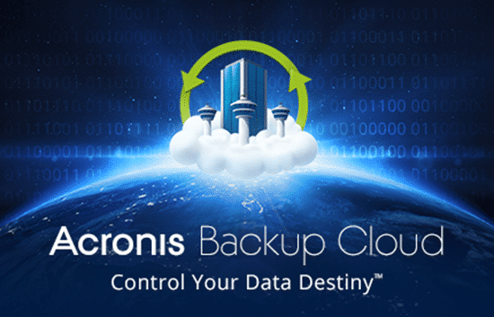 Acronis Backup Cloud, solution de sauvegarde sécurisées